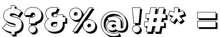QebabShadowFFP Font OTHER CHARS