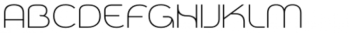 Qero Lite Font UPPERCASE