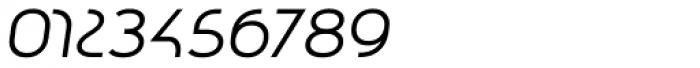 Qero Nite Italic Font OTHER CHARS