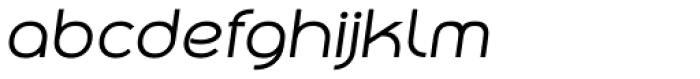 Qero Nite Italic Font LOWERCASE