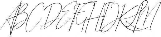 Qiara Script otf (400) Font UPPERCASE