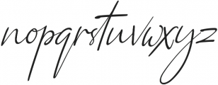 Qiara Script otf (400) Font LOWERCASE