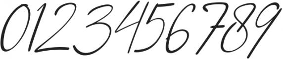 Qiara Script regular otf (400) Font OTHER CHARS