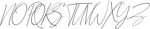 Qiara Script regular otf (400) Font UPPERCASE