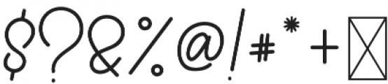 Qiara Tosfa Regular otf (400) Font OTHER CHARS