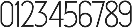 Qiara  sans otf (400) Font OTHER CHARS