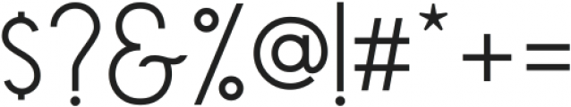 Qiara  sans reguler ttf (400) Font OTHER CHARS