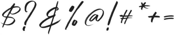 Qindom otf (400) Font OTHER CHARS