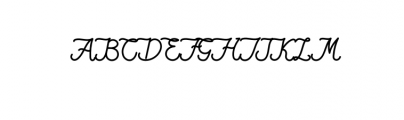 QiaraTosfa.otf Font UPPERCASE