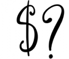 Qillyanst Signature Calligraphy Font OTHER CHARS