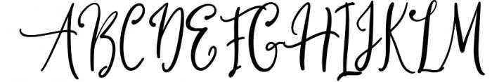 Qillyanst Signature Calligraphy Font UPPERCASE
