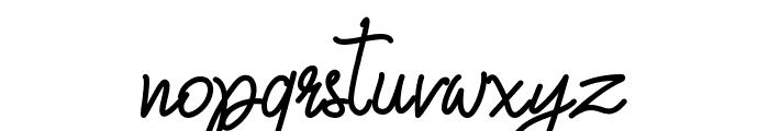 Qiara Tosfa Font LOWERCASE