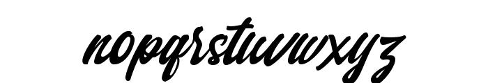 Qintan Script Free Regular Font LOWERCASE