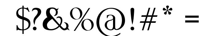 Qirkus-CAPS Font OTHER CHARS