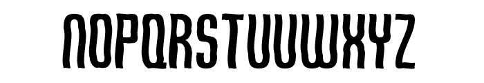 Qirof Font UPPERCASE