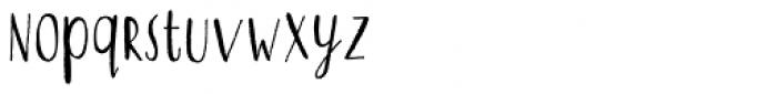 Qiber Font LOWERCASE