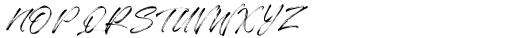 Qillsey Einstein Regular Font UPPERCASE