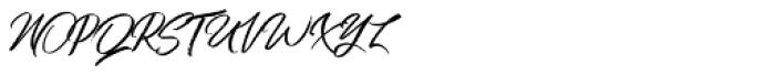 Qindom Regular Font UPPERCASE