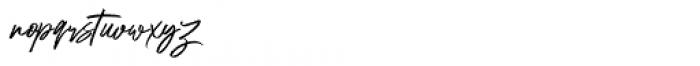 Qindom Regular Font LOWERCASE