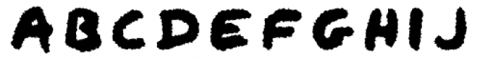 Qipao Rougher Font UPPERCASE