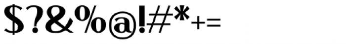 Qisharon Bold Font OTHER CHARS