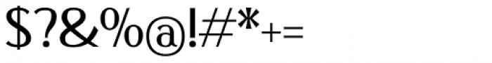 Qisharon Book Font OTHER CHARS