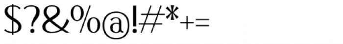 Qisharon Light Font OTHER CHARS