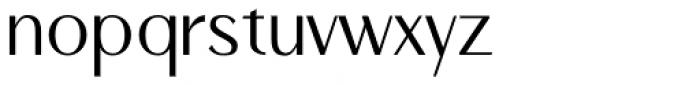 Qisharon Light Font LOWERCASE