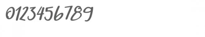 Qiyoshi Italic Font OTHER CHARS
