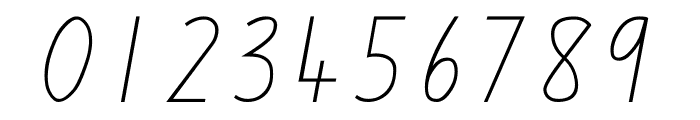 QLD Handwriting Font Font OTHER CHARS