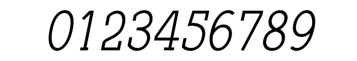 Qlarendon Condensed Italic Font OTHER CHARS