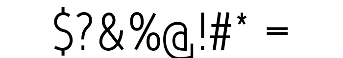 Qlarendon Condensed Font OTHER CHARS