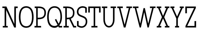 Qlarendon Condensed Font UPPERCASE