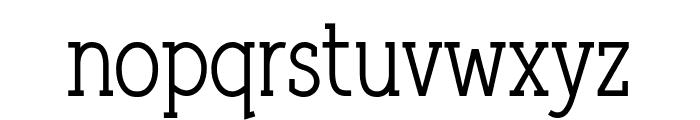 Qlarendon Condensed Font LOWERCASE