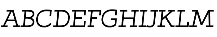 Qlarendon Italic Font UPPERCASE