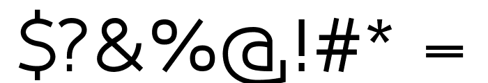 Qlarendon Font OTHER CHARS