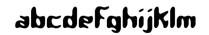 Qlumpy BRK Font LOWERCASE