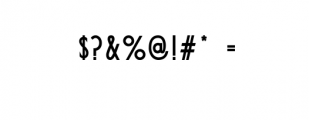 Qontreaux: Bold Elegant Modern Typeface Font OTHER CHARS