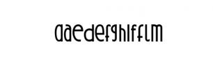 Qontreaux: Bold Elegant Modern Typeface Font LOWERCASE