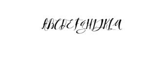 Qoobly Typeface.otf Font UPPERCASE
