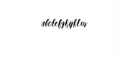 Qoobly Typeface.otf Font LOWERCASE