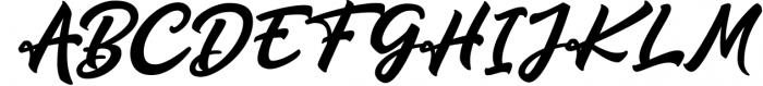 Qrayolla Script 1 Font UPPERCASE