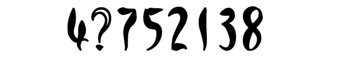 Qreepy free Font OTHER CHARS