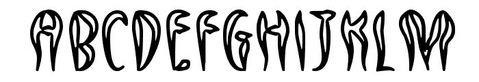 Qreepy free Font UPPERCASE