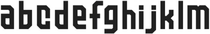 QUARTA Regular otf (400) Font LOWERCASE