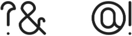 Quackers ttf (400) Font OTHER CHARS