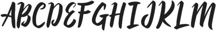 Quacky ttf (400) Font UPPERCASE
