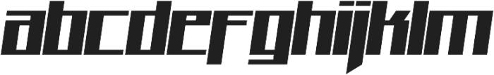 Quad otf (400) Font LOWERCASE