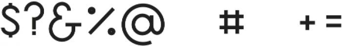 Quaderno 25 otf (400) Font OTHER CHARS