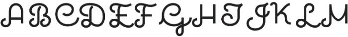 Quaderno 25 otf (400) Font UPPERCASE